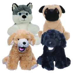 "8"" Puppy Four Pack"