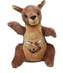 Kangaroo and Joey Stuffable Animal