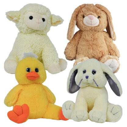 Easter 4 Pack of Stuffable Animals