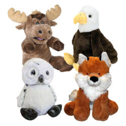 Forest Friends Party Pack of Stuffable Animals