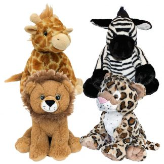 """8"""" Africa Animals Four Pack"""