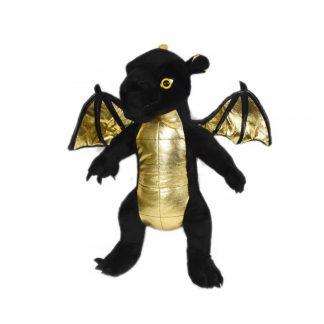 Black Dragon Stuffable Animal