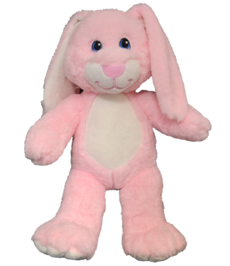 "16"" Pink Rabbit Stuffable Animal"