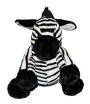 "Zebra 8"" Stuffable Animal"