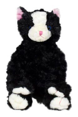 Black Cat Stuffable Animal