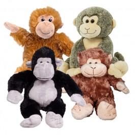 4 Pack of Stuffable Monkeys