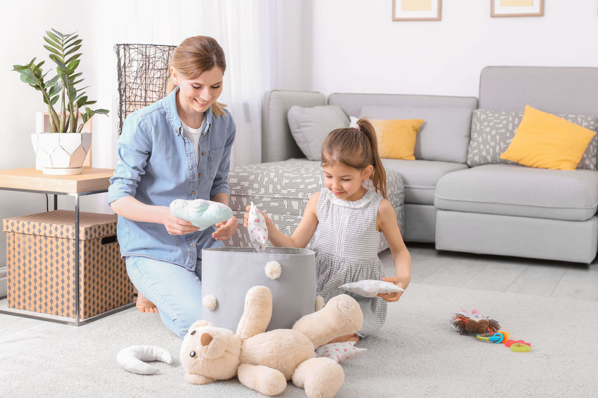 4 Tips for Spring Cleaning with Kids