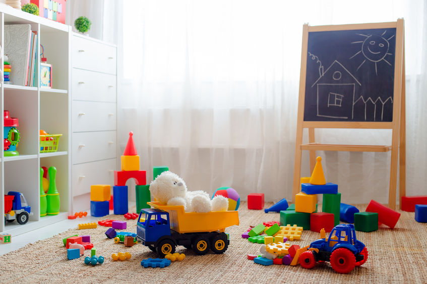 4 Easy Tips for Keeping Your Playroom Clean and Organized